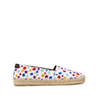 Saint Laurent Espadrille Com Estampa Star Fun - Branco