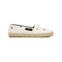 Saint Laurent Espadrille Estampada - Neutro