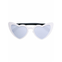 Saint Laurent Eyewear Óculos De Sol 'new Wave 181 Loulou' - Metálico