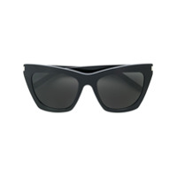 Saint Laurent Eyewear Óculos De Sol 'new Wave' - Preto