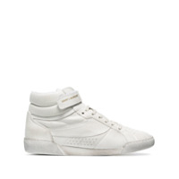 Saint Laurent Lenny High-Top Sneakers - Branco