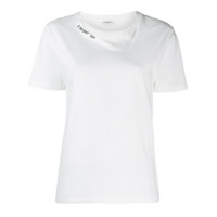 Saint Laurent Logo T-Shirt - 9744 White