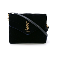 Saint Laurent Lou Lou Small Shoulder Bag - Azul