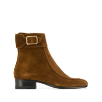 Saint Laurent Ankle Boot Miles - Marrom