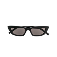 Saint Laurent Rectangular Lense Sunglasses - Preto