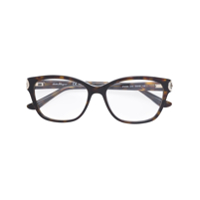 Salvatore Ferragamo Square-Frame Optical Glasses - Marrom