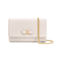 Salvatore Ferragamo Mini Vara Shoulder Bag - Neutro