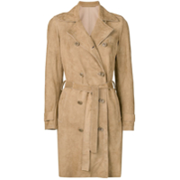 Salvatore Santoro Trench Coat Clássico - Neutro