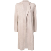Salvatore Santoro Long Open Front Jacket - Neutro