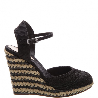 Sandália Braid Duo Black | Schutz
