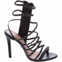Sandália Fancy Strips Black | Schutz