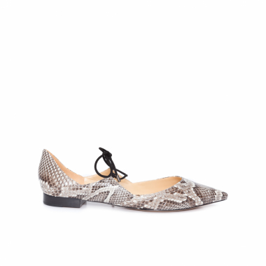 Sapatilha Corinne Ballet Exotic - Animal Print