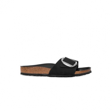 Sandalia Madrid Big Buckle Nl Black Hex Black Birkenstock