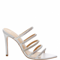 Sandália Mule Strings Glam White | Schutz