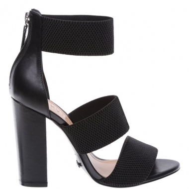Sandália Multi Strech Strip Black | Schutz
