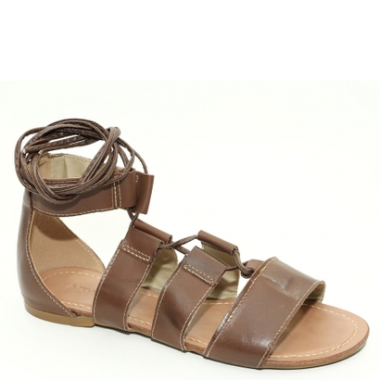 Sandália Top Franca Shoes Gladiadora-Feminino