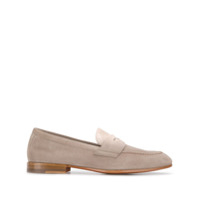 Santoni Mocassim Slip-On - Neutro