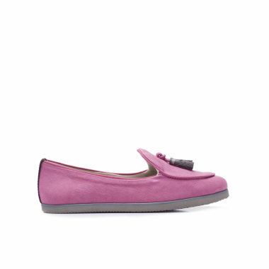 LOAFER FEMININO BORDEAUX - ROSA