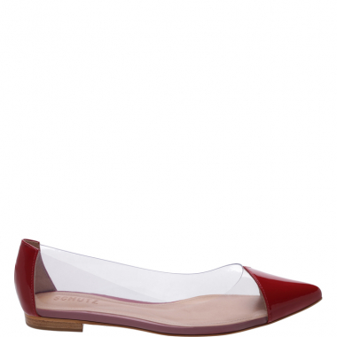 Sapatilha Pointy Crystal Red | Schutz