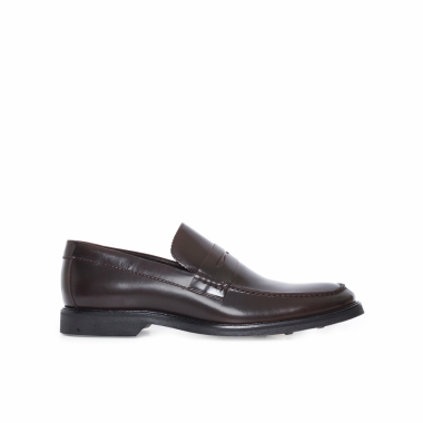 Sapato Casual Penny Loafer - Marrom