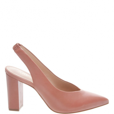 b4c8aed88d Scarpin Couro Slingback Urban Bege