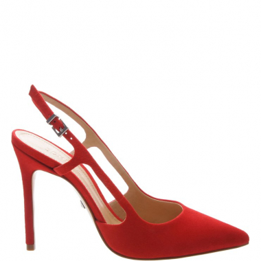 Scarpin Slingback Cut-Out Red | Schutz
