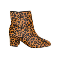 Schutz Bota Cano Curto Animal Print