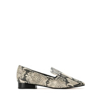 Schutz Loafer Animal Print Cobra - Estampado