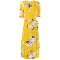 Sea New York Vestido Envelope Com Estampa Floral - Amarelo