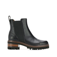 See By Chloé Ankle Boot Mallory - Preto