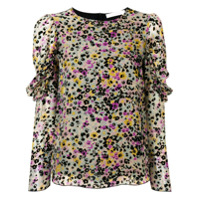 See By Chloé Blusa 'spotted Flowers' - Preto