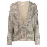 See By Chloé Chunky Knit Cardigan - Neutro