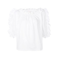 See By Chloé Pleated Blouse - Branco