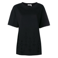 See By Chloé Ripped T-Shirt - Preto