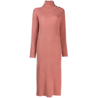 See By Chloé Roll-Neck Sweater Dress - Rosa
