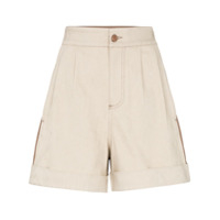 See By Chloé Short Bicolor - Neutro