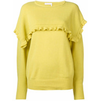 See By Chloé Suéter Com Mangas Longas - Amarelo