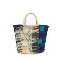 Sensi Studio Frayed Tote Bag - Azul