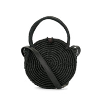 Sensi Studio Round Wicked Handbag - Preto