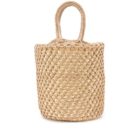 Sensi Studio woven bucket bag - Neutro