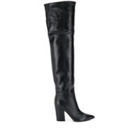 Sergio Rossi Bota Over The Knee - Preto