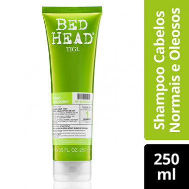 Shampoo Bed Head Urban Antidotes Reenergize Brilho 250Ml-Feminino