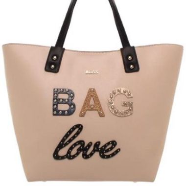 Shopper Bag Bliss Bags I Love Feminino-Feminino