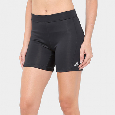 Short Adidas Techfit 5In Feminino-Feminino