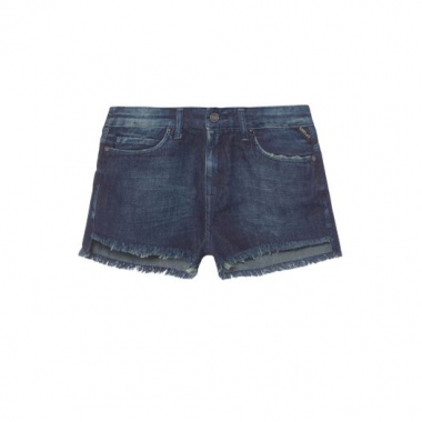 Short Curto Jeans Replay - Azul