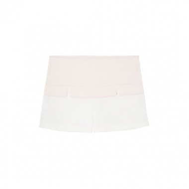 Short Delicate Pala 284 - Off White