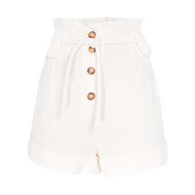 Short Feminino Clochard - Off White