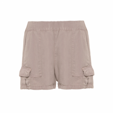 Short Feminino Tencel Churchill - Bege