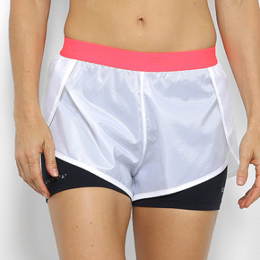 Short Fila Born To Run Feminino-Feminino