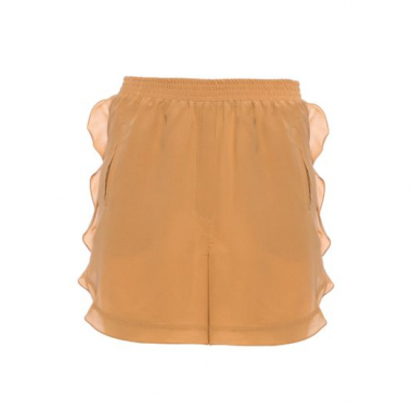 Short Galeao Silk A. Niemeyer - Marrom
